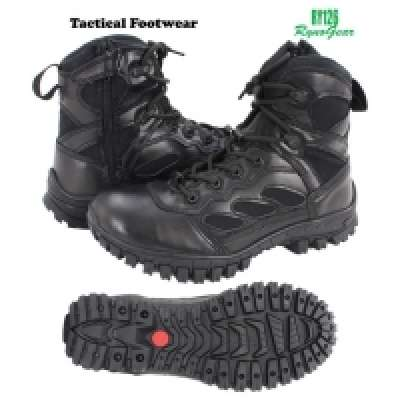 "6"" Tactical Side Zip Boots (Black)"