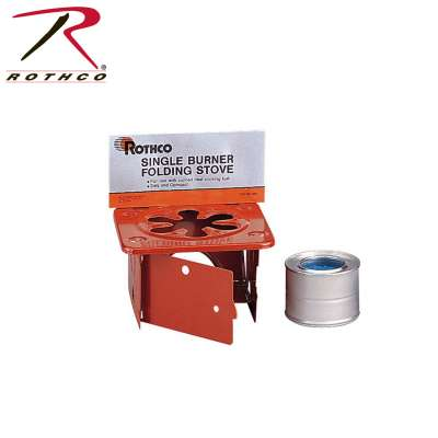 Rothco Single Burner Folding Stove