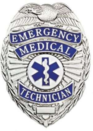 FCBA-23 Stock Badge / Placa Tecnico Emergencias Medicas