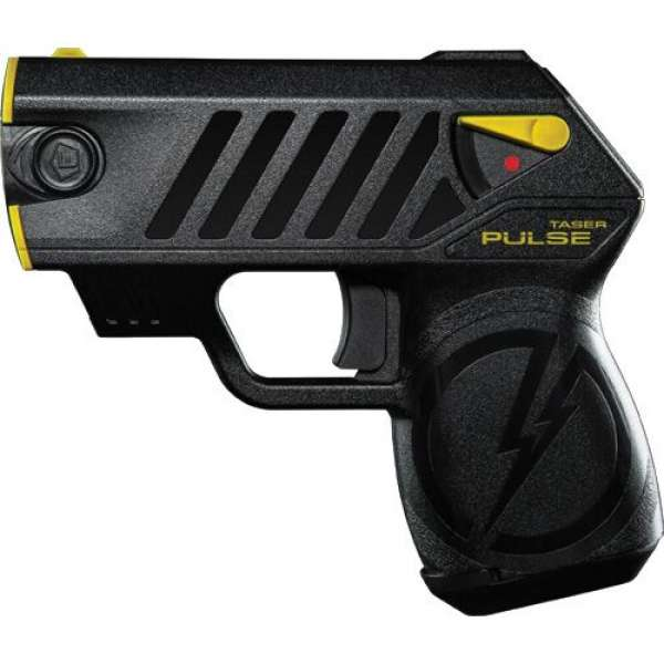 TASER® Pulse  with integrated laser sight and LED Flashlight
