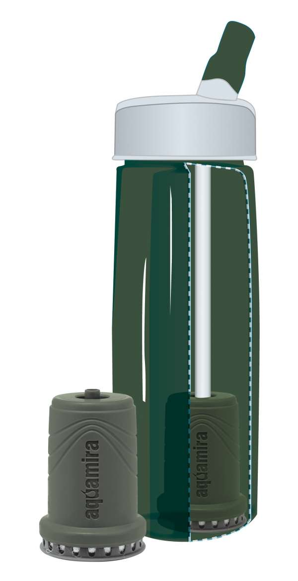 Aquamira Tactical Water Bottle Filter